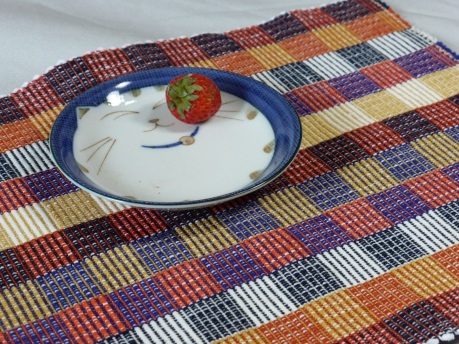 Rep weave placemat 2