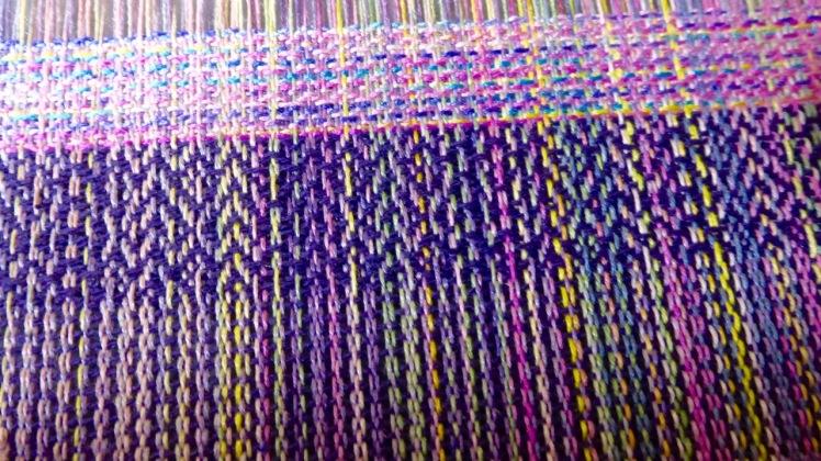 Wedding Bouquet purple and var silk weft 2