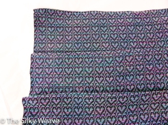 Hearts Damask seacell blanket (3 of 8)